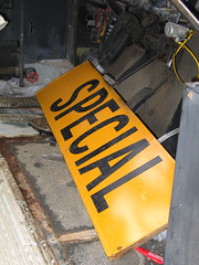 Staging Area - School Bus - 'Special'