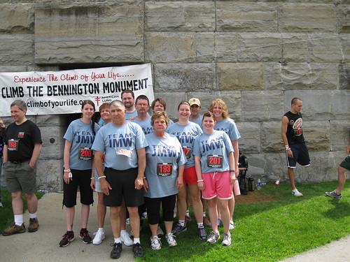 Bennington Monument Climb 2011