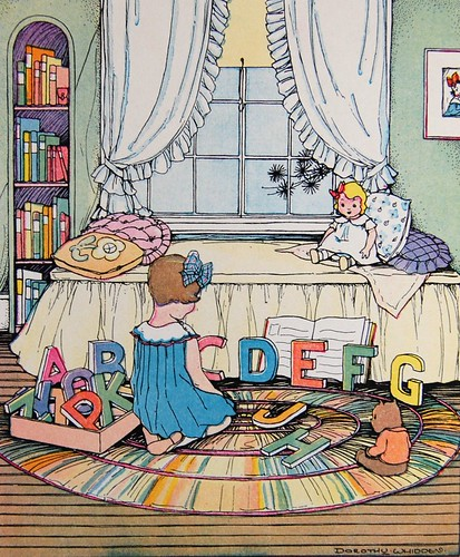 Dorothy Whidden alphabet illustration