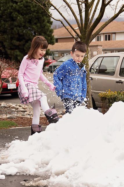 Snow Pile!
