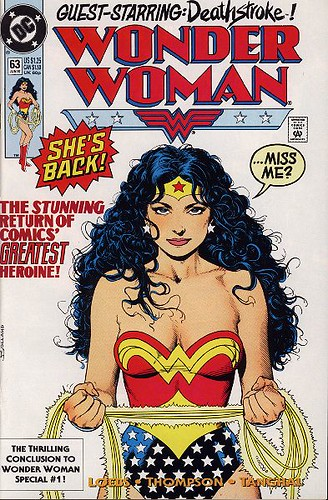 Wonder Woman Covers