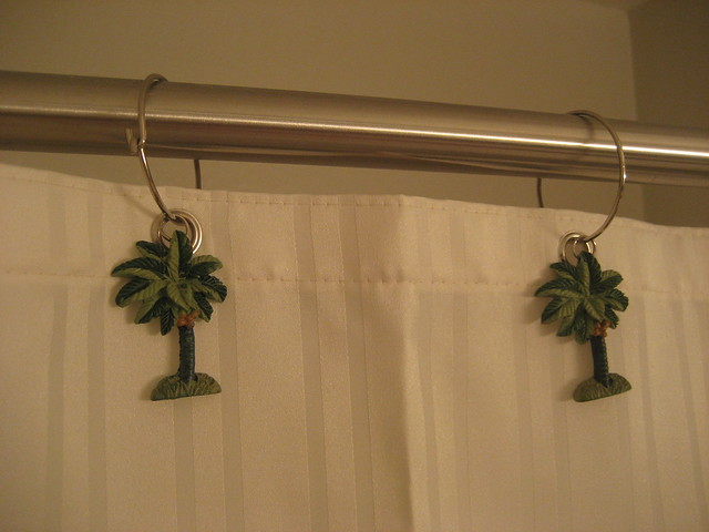 Palm Tree Shower Curtain Holders | Flickr - Photo Sharing!