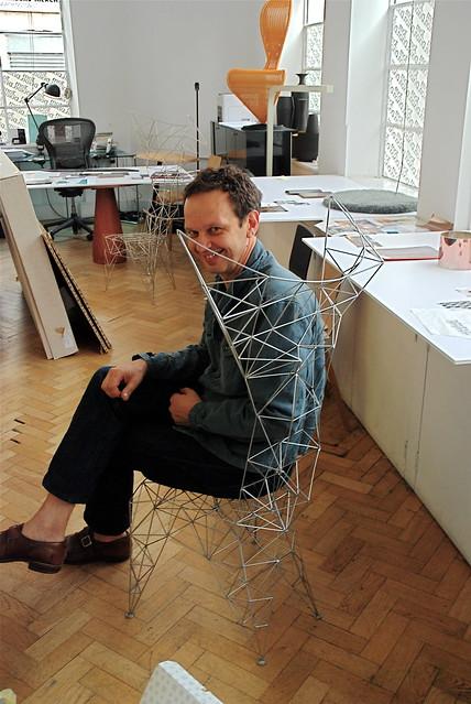 Tom Dixon E Blackbarry : Tom dixon in pylon chair flickr photo sharing