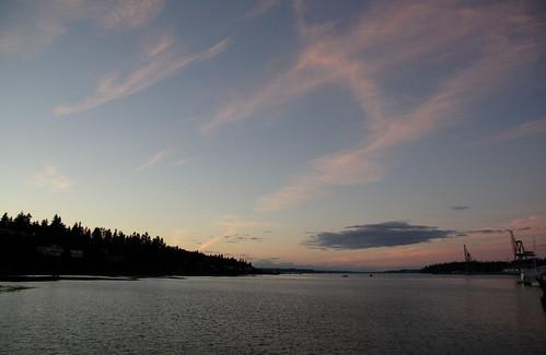 Budd Inlet Sky