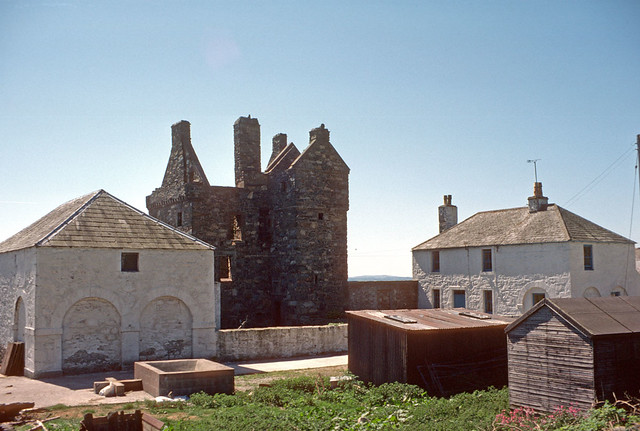 Carsluith Castle, Wigtown Bay (1980)