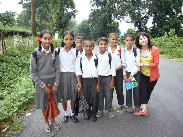 darjeeling~可爱的小学生 | flickr – 相片分享!
