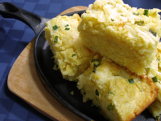 Jalapeno Cheddar Cornbread | Flickr - Photo Sharing!