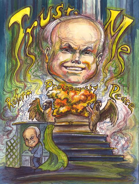 "John McCain-Humbug | ""Ignore that man behind the curtai… | Flickr ..."