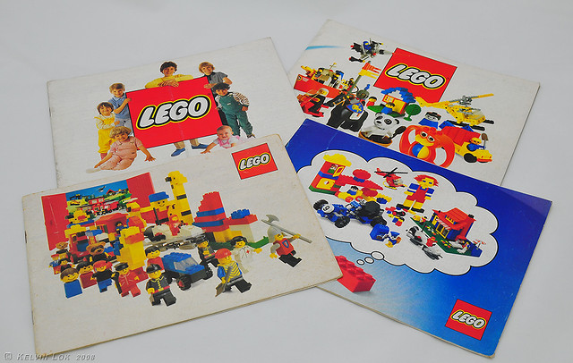 Vintage Lego catalogues