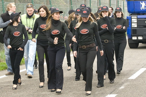 FIA GT girls