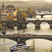 Czech Republic / Prague - The bridges (2008) by Manu Foissotte