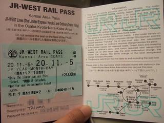 JR West Rail Pass