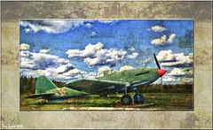 The Soviet WWII Ground-Attack Aircraft Ilyushin Il-10 'Shturmovik'. Советский штурмовик Ил-10.
