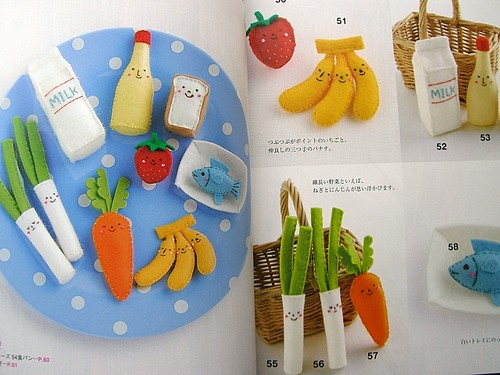 Paper Food 3 Photos | Kawaii Cute Japanese Felted Mascot Book - Making Your Mini