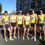 PMEZ klubů v půlmaratonu, v týmu AK Kroměříž, foto: archív AK Kroměříž