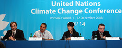 Climate Action Network press conference