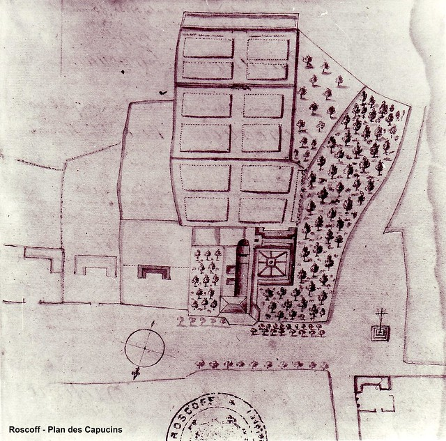 Roscoff - Archives Feutren - Les Capucins