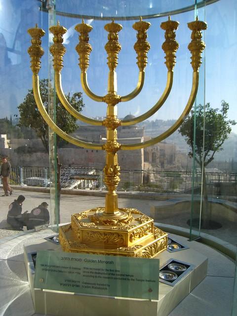 Golden Menorah | Flickr - Photo Sharing!