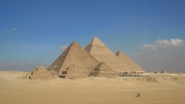 The Great Pyramids in Egypt