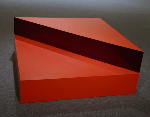 Untitled 1963 oil on wood with plexiglas by donald judd for Minimal art judd