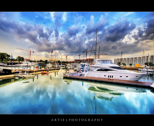 ONE°15 Marina Club, Sentosa (II) :: HDR