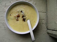 bisque, food, leek soup, dish, soup, cuisine,