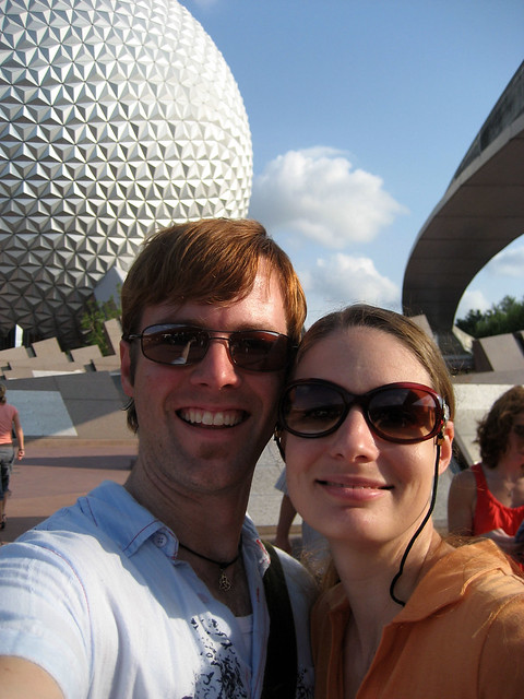 ian and tammy at epcot