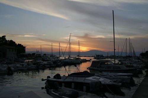 Malinska kikötő, Krk sziget