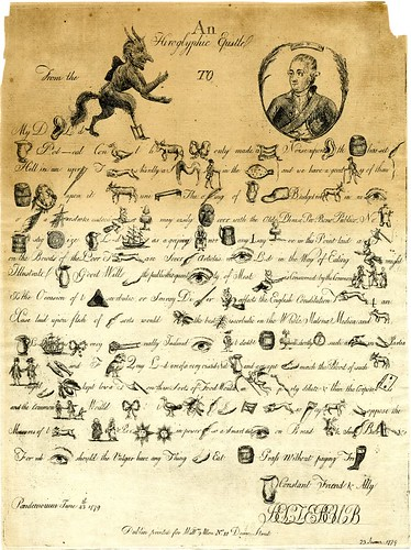 An hiroglyphic epistle from the Devil to Lord N-th.