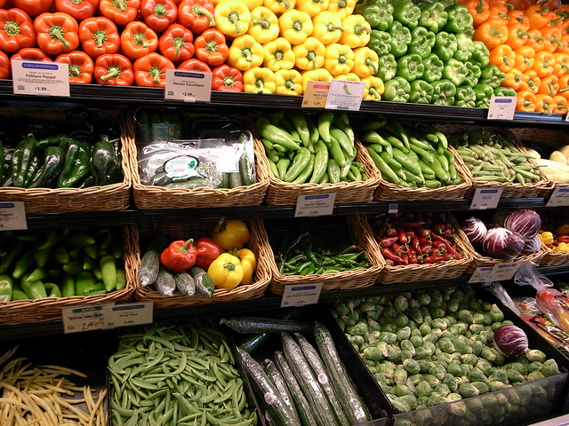 Photo:Vegetables in Whole Foods Market By:Masahiro Ihara