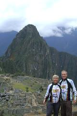 Nancy and Randy at Machu  Picchu