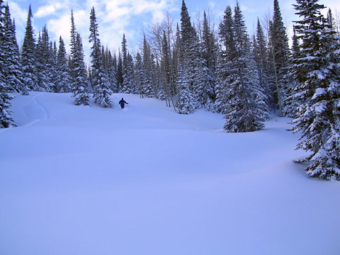 Powderhorn scenic powder