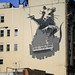 Banksy Rat Mural on Canal Street, Chinatown, New York City