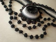 Leea ... Freeform Crochet Necklace