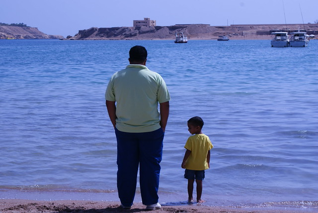 Father & son..@ Sharm el sheikh