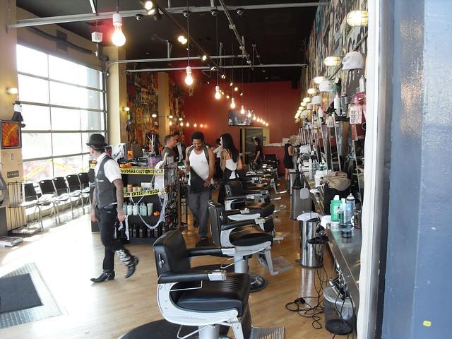 Floyds Barber Shop, Melrose Ave, Hollywood Flickr - Photo Sharing!