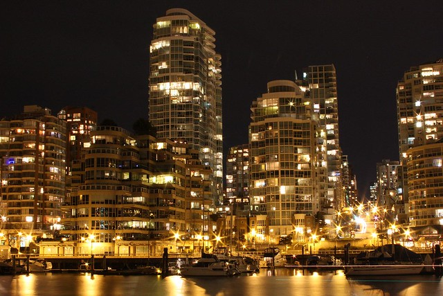 Vancouver Downtown at Night