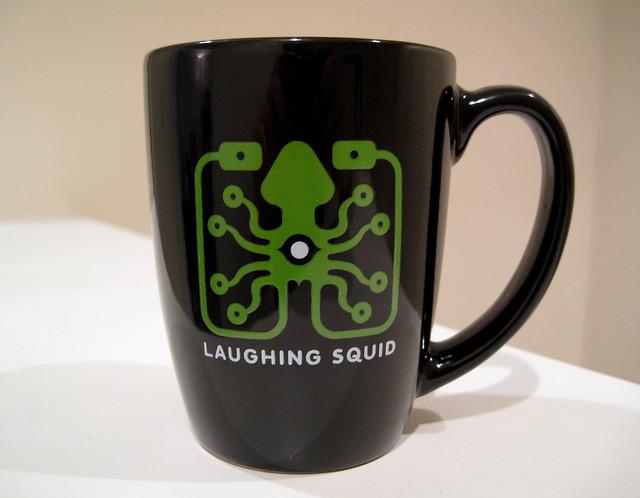 Laughing Squid Coffee Mug