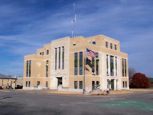 Lane County Courthouse, Dighton, Kansas