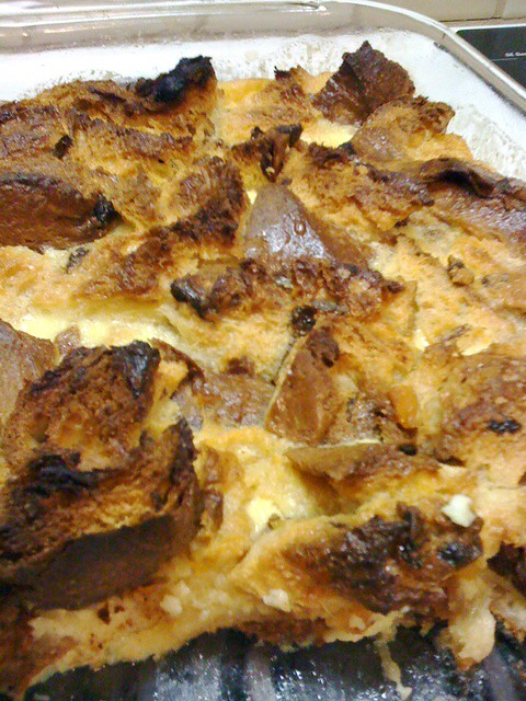Panettone bread pudding | Flickr - Photo Sharing!