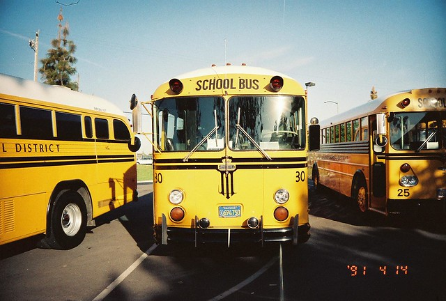 FRESNO UNIFIED SCHOOL DISTRICT BUS 30   Flickr - Photo ...