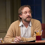 Andrew Long (Frank) in the Huntington's production of Willy Russell's EDUCATING RITA directed by Maria Aitken, March 11 — April 10, 2011 at the Avenue of the Arts / BU Theatre. Photo: T. Charles Erickson