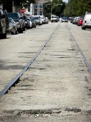 Lakewood Branch In-Street Rails