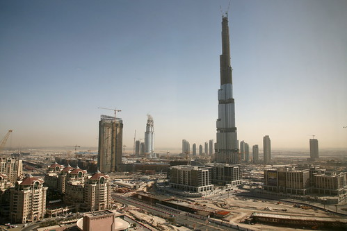 Burj Dubai and Business Bay