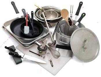 Small space living for Instrumentos de cocina