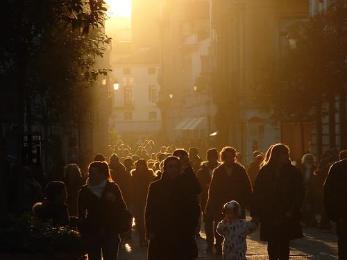 street sunset italy orange europe italia vicenza vladimir jovanovic veneto bufivla