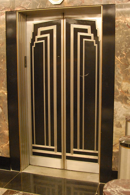 Art deco lift in empire state building flickr photo for Empire state building art deco interior