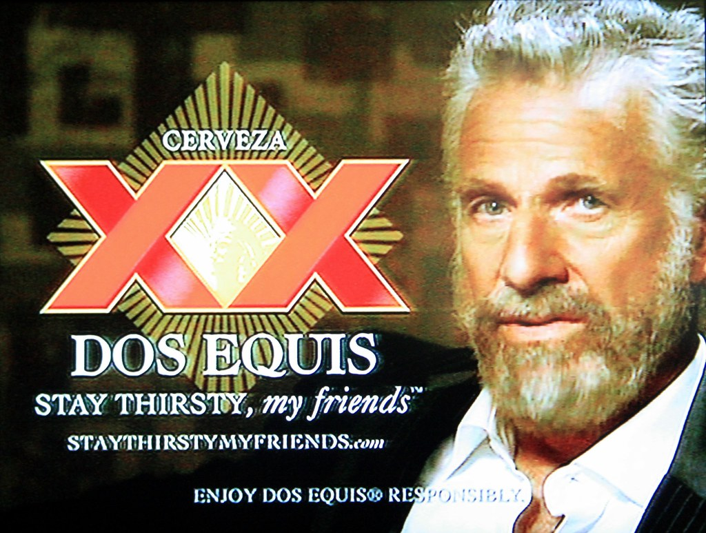 dos equis beer commercial guy histomil com