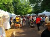Tents with Goods for Sale ComFest Goodale Park Columbus, Ohio  <a