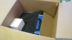 cardboard, box,